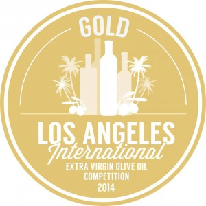 Gold Los Angles International Extra Virgin Olive Oil Competition 2014